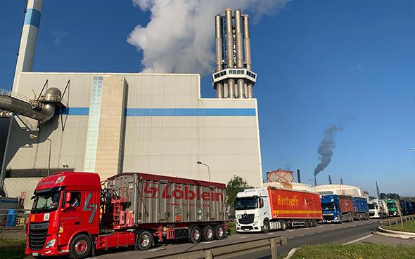 Terugblik staking FNV bij weegbruggen afvalenergiecentrales